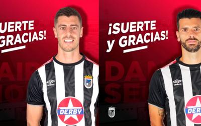 Dani Segovia y Jairo Morillas dejan el CD Badajoz