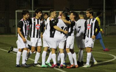 El buen juego premia al Badajoz 'B' (2-0)
