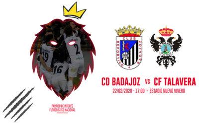 CD Badajoz – CF Talavera