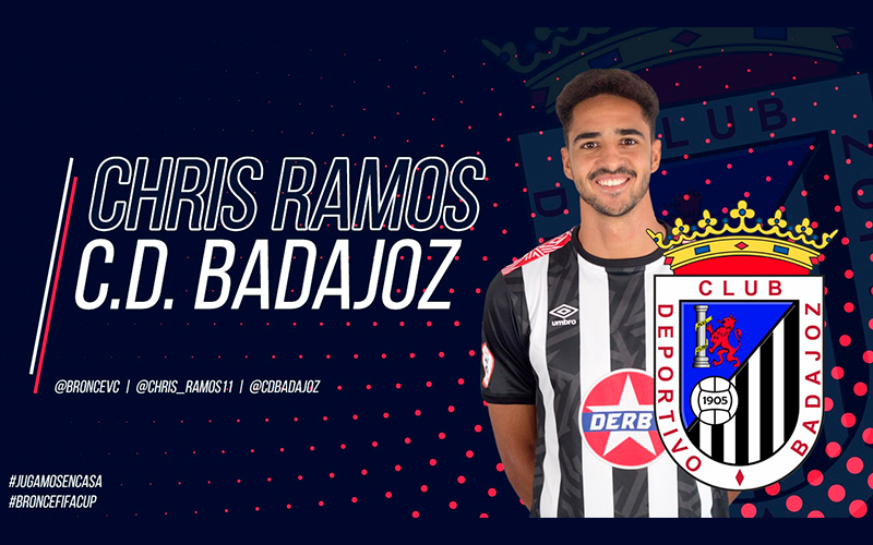 Chris Ramos, al mando del CD Badajoz