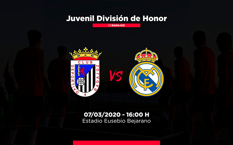 CD Badajoz – Real Madrid División de Honor