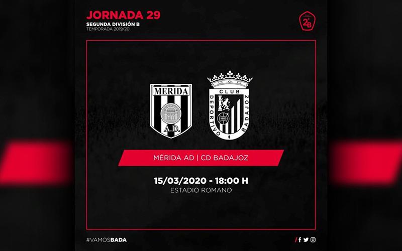 AD Mérida – CD Badajoz (Información)