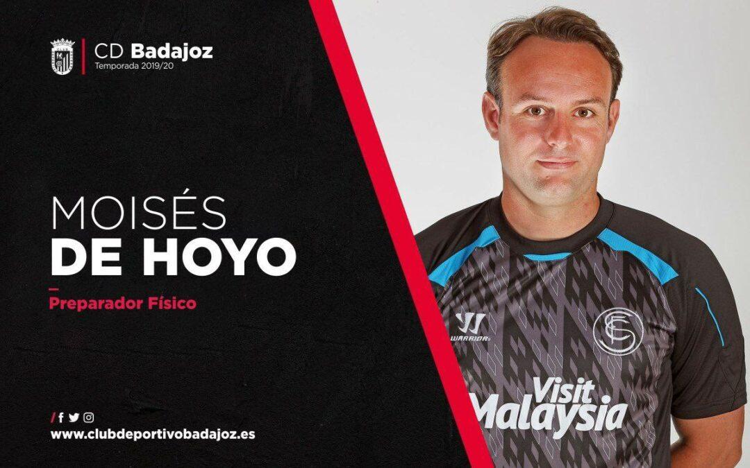 El CD Badajoz incorpora a Moisés de Hoyo