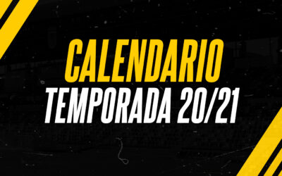 CALENDARIO TEMPORADA 20/21