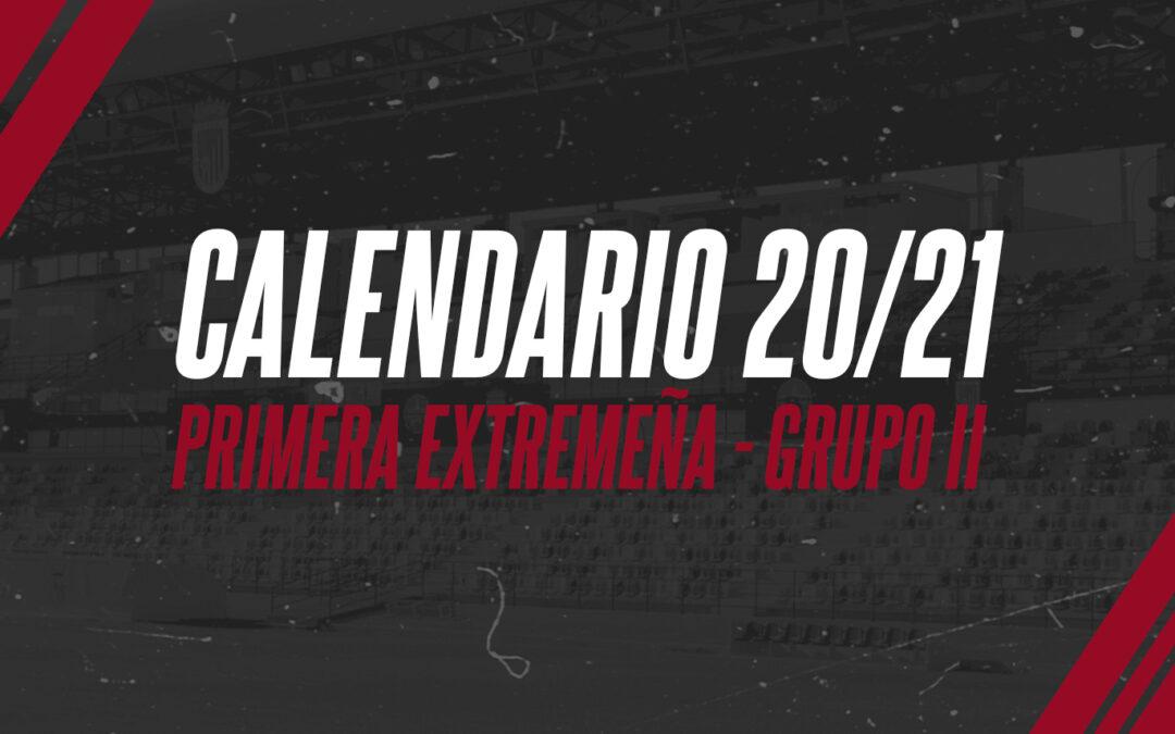 CALENDARIO PRIMERA EXTREMAÑA 20/21