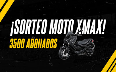 SORTEO MOTO YAMAHA XMAX 125CC
