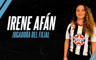 IRENE AFÁN LLEGA AL FILIAL FEMENINO