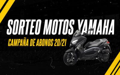 SORTEO DOS MOTOS YAMAHA XMAX 125CC