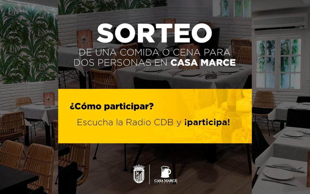 SORTEO DE UNA CENA PARA DOS EN CASA MARCE