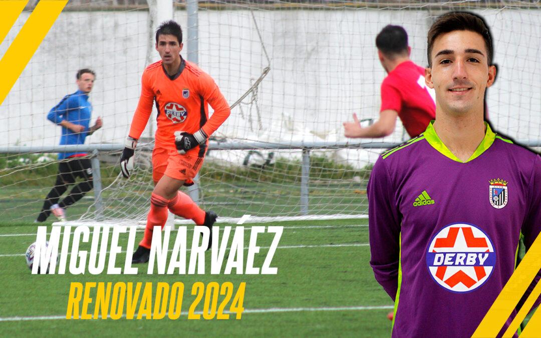 MIGUEL NARVÁEZ, BLANQUINEGRO HASTA 2024