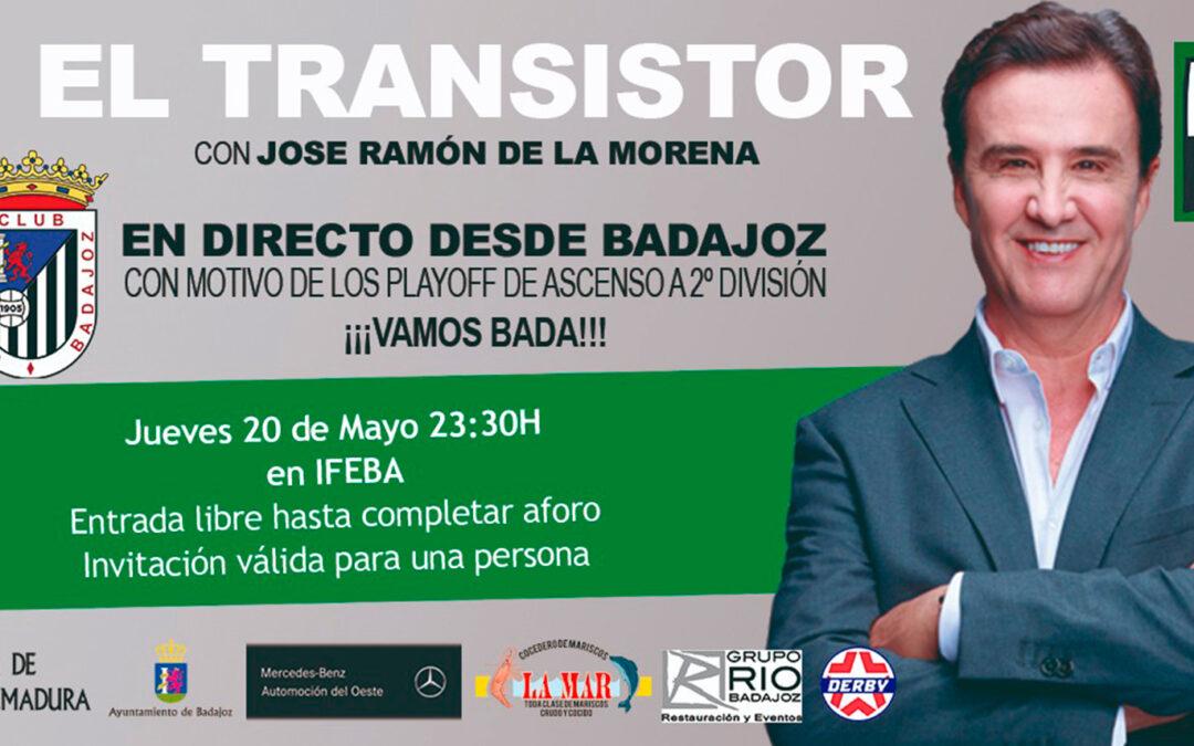 EL CD BADAJOZ EN EL TRANSISTOR CON DE LA MORENA