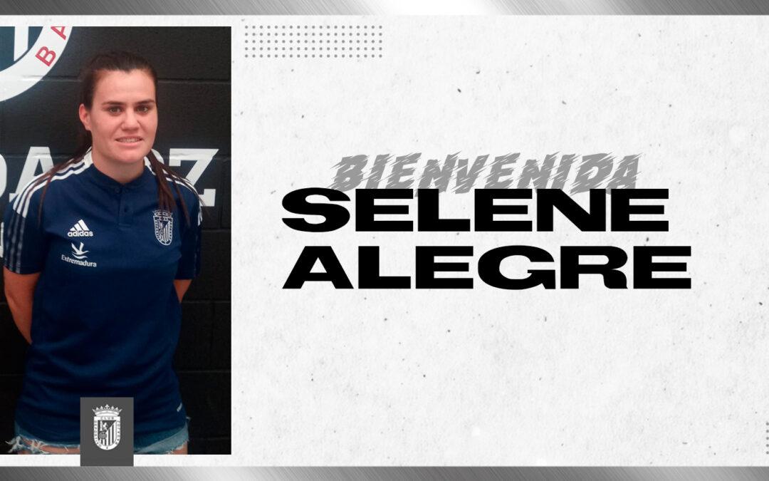 SELENE ALEGRE REFUERZA EL PERFIL IZQUIERDO